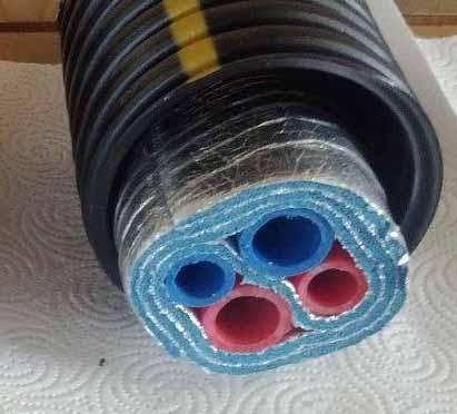 Insulated Underground Pex Pipe
