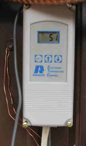 RANCO digital thermostat aquastat wiring on