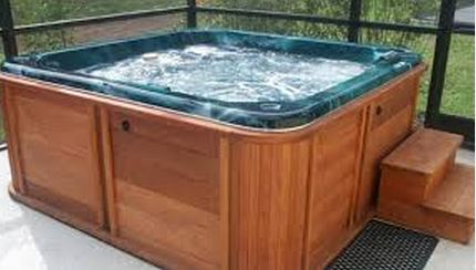 Wood Fired Spa or Hot Tub Heater